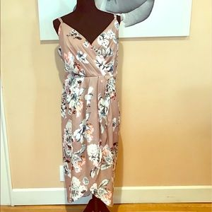 Floral Print City Chic Dress Size 18